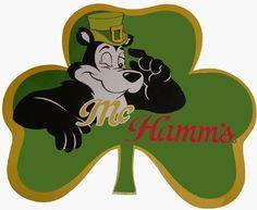 HAMM'S BEAR LUCKY McHAMM'S BEER T SHIRT SIZES SMALL THRU XXXLARGE (F)