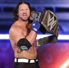 Aj Styles Wwe, Afc Ajax, Wwe World, Wwe Champions, Wwe Wrestlers, Wwe Superstars, Man Alive, Beard Styles, Love Story