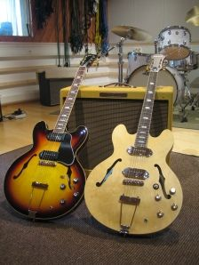 "Gibson ES-330L  Epiphone ""Inspired by"" Revolution Casino"
