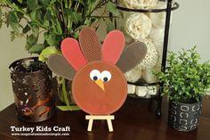 Thanksgiving Turkey Kids Craft - Inspiration Made Simple