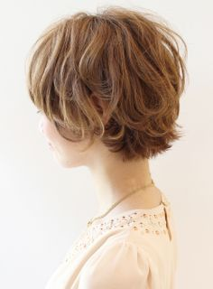 short bob - growing out the pixie