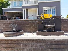 Modern Water Feature, Garden Water, Water Features In The Garden, Ponds, Melbourne, Commercial, Range, Patio, Canning