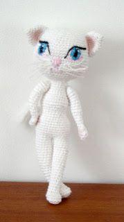 2000 Free Amigurumi Patterns: Free Amigurumi Cat Crochet Pattern