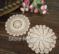 Aliexpress.com : Buy 20pcs/lot COLOR OPTIONS hand crocheted doilies wholesale price doilies for wedding decor FREE SHIPPING!!! from Reliable wholesale price doilies suppliers on Handmade Shop $16.80