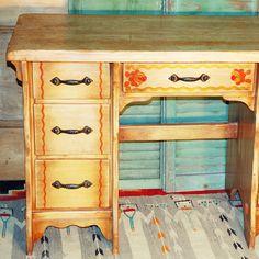 Take a look at this Coronado Desk found at luckystargallery.com! $1,200 Custom Furniture, Desk, Antiques, Vintage, Home Decor, Bespoke Furniture, Antiquities, Desktop, Antique