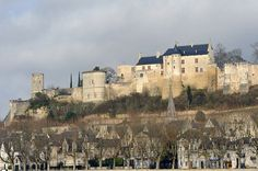 Château de Chinon from the south