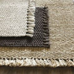 Where can I find jute rugs? Shop Ballard Designs for the best jute rugs, sisal rugs, natural fiber rugs, and more! Room Rugs, Rugs In Living Room, Area Rugs, Jute Carpet, Rugs On Carpet, Textiles, Ideas Hogar, Kitchen Rug, Jute Rug