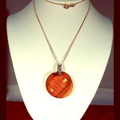 "1"" diameter Swarovski Crystal Necklase Radiant Swarovski Crystal Necklace. Available on 16""  18"" or 20"" SS  chain. 1"" or 28 mm diameter Twist Crystal Copper Pendant. Swarovski Jewelry Necklaces"