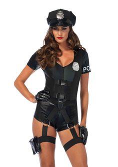 Flirty Five-O Romper Costume, Sexy Cop Costume, Sexy Police Costume Police Halloween Costumes, Easy Costumes, Halloween Outfits, Adult Costumes, Costumes For Women, Cosplay Costumes, Woman Costumes, Pirate Costumes, Princess Costumes