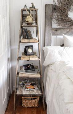 Masz w garażu lub piwnicy starą, zalegającą drabinę? Będziesz zdziwiony na ile sposobów można ją wykorzystać i uatrakcyjnić wnętrza domu. Oto kilka nietuzinkowych pomysłów, które zainspirują do kreatywnej pracy z tym przedmiotem.
