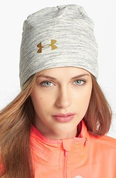 Under Armour Charged Cotton Storm Marble Beanie available at #Nordstrom