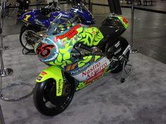 Valentino Rossi Nastro Azurro 1999: Aprilia RS125 Team Scuderia AGV motorcycle, for Mugello