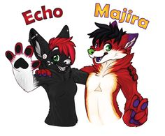 For Majira and Echo! by Gerce