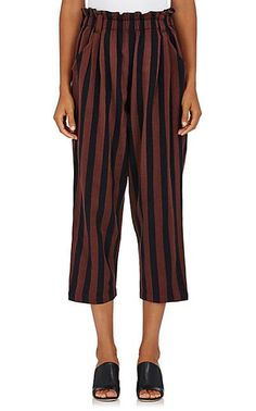Ace & Jig Hughes Pants in Outlaw -  Striped Cotton Pants - Trousers - 505285340