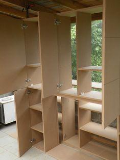 L'Atelier Bois - Generic - Placard MDF - 2. Assemblage