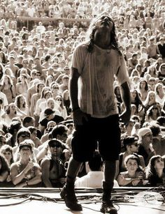 Best part of this photo is no cell phones in front of crowds faces...just enjoying