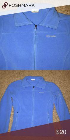 COLUMBIA NEW CONDITION FLEECE JACKET Blue fleece Columbia jacket. Size small, women's fit. Columbia Jackets & Coats