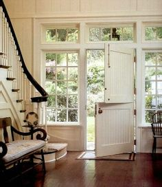 Something about the split door just adds an element of charm I love