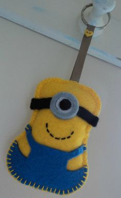 Minion Keyring - The Supermums Craft Fair