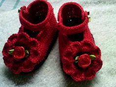 graficos sapatinhos de croche para bebe - Buscar con Google