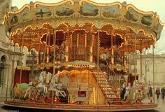 Merry-go-round at Avignon