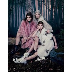 Vogue Japan Into The Woods