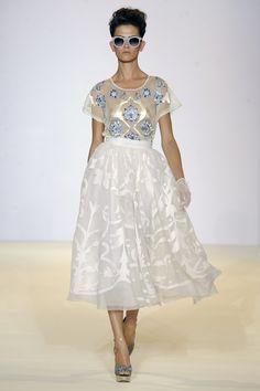 Temperley London, Spring Summer '13, Fleur Top and Francine Skirt