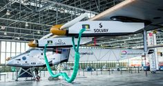 The Solar Impulse 2, which was made with composite materials, completed the world's first round-the-world solar-powered flight.
