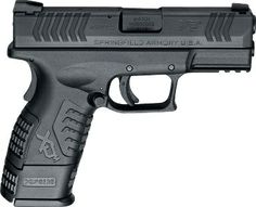 Springfield Armory U.S.A. XD(M) compact 9mm pistol