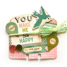 You. Memorydex Rolodex Card by Jackie Benedict