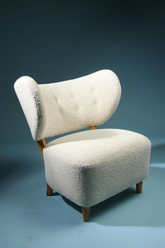 Easy chair  Designed by Otto Schulz for Boet, Sweden. 1940's.