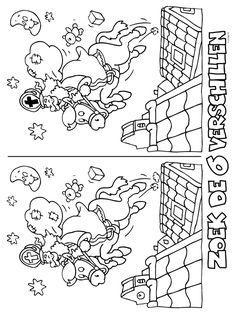 Kleurplaat Zoek de verschillen - Kleurplaten.nl Christmas Games, Christmas Crafts, Xmas, Diy For Kids, Crafts For Kids, Christmas Cards Drawing, Contexto Social, Primary School, Coloring Pages