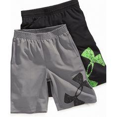 kid boy under armour | Under Armour Kids Shorts, Little Boys Power Up Shorts