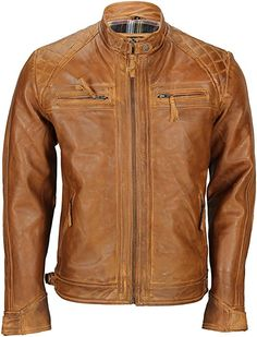 Choosing The Right Men's Leather Jackets. A leather coat is a must for every single guy's closet and is also an excellent method to express his personal design. Leather coats never ever head Classic Leather Jacket, Leather Jacket Outfits, Men's Leather Jacket, Soft Leather, Real Leather, Leather Jackets, Biker Jackets, Men's Jacket, Country Attire