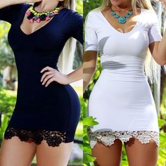 Womens Lady Sexy Short Slim Cocktail Party Evening Bodycon Mini Dress Clubwear | Clothing, Shoes & Accessories, Women's Clothing, Dresses | eBay!