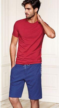 Juan Betancourt Models Intimissimi Underwear + Loungewear