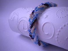 Plaited Bead Bracelet