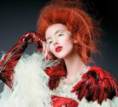Styled by Carmody Homan for his new collection, It's a Love of Hair; American Salon October 2011.