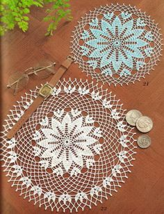 Beautiful Lace Doily - Using Crochet Thread
