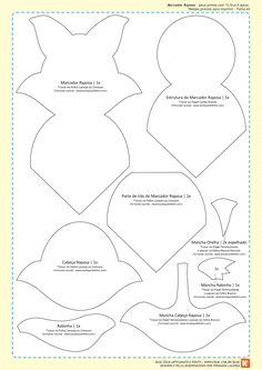 Gente querida e leitores apaixonados, hoje eu trago para vocês moldes de três marcadores de páginas, inspirados na história d'O Pequeno Pr...