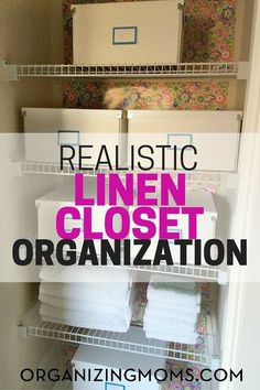 How I organized our linen closet using budget-friendly, simple materials that I can easily transfer to our next home. I wanted to do something that I knew I wou…