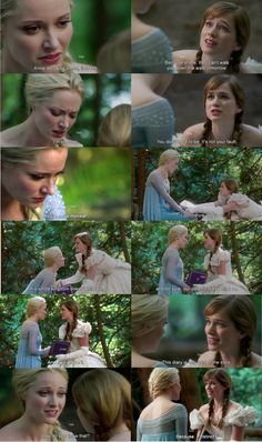 """Elsa and Anna - 4 * 1 """"The tale of two sisters."""" - """"because.... instinct?"""" is my favorite part LOL"""