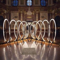 Carsten Holler light art installation