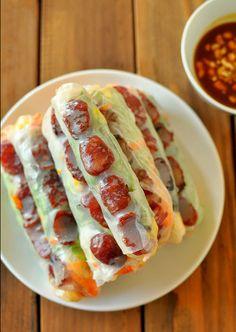 Hướng dẫn thực hiện món bò bía mặn - món ăn vặt quen thuộc của người Sài Gòn | Cuonnroll.vn