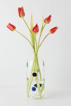 Dots and Smides Vase