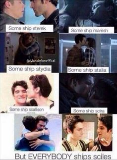 teen wolf, stydia, and sciles afbeelding