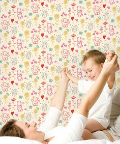 Another great find on #zulily! Cub Hub Removable Wallpaper Kit #zulilyfinds