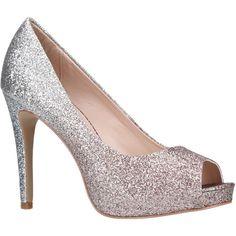 5f2e31b9862 Carvela Lark Peep Toe Court Shoes (€44) ❤ liked on Polyvore featuring shoes