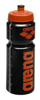 Arena Water Bottle - Black / Orange