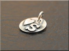 Hey, I found this really awesome Etsy listing at https://www.etsy.com/listing/195961875/sterling-silver-monogram-charm